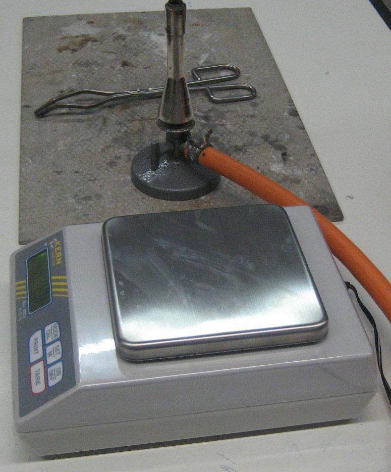 protokoll magnesium verbrennt